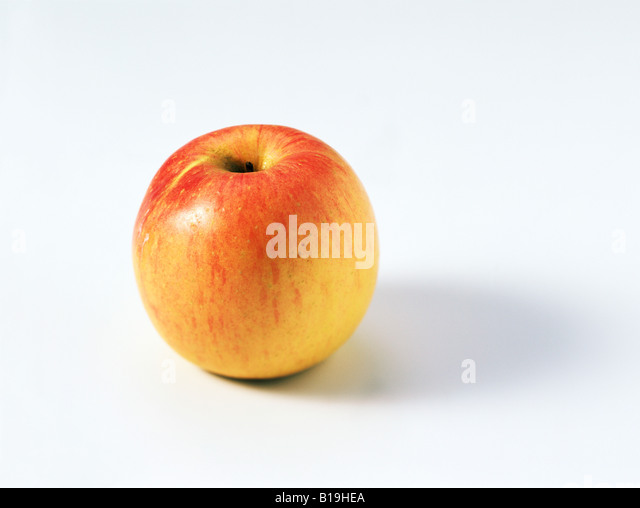 Fuji apple - Stock Image