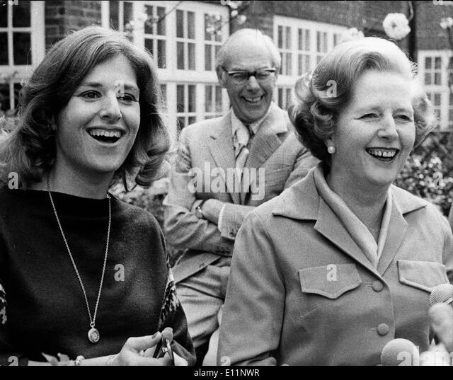 Daughter Of Margaret Thatcher Stock Photos & Daughter Of ...