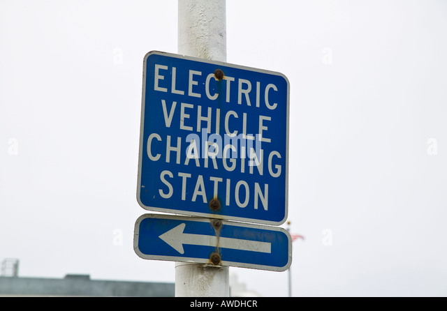 Santa Monica Electric Car Parking