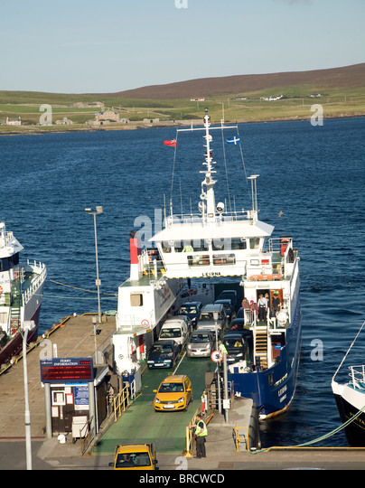 bressay ferry Mv leirna is a double ended ro-ro ferry operated by sic ferries she operates between bressay with lerwick.