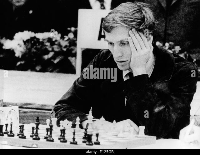 Jul 16, 2004; Buenos Aires, ARGENTINA; (File Photo 6/15/1972) Former world chess champion BOBBY FISCHER of the United - Stock Image