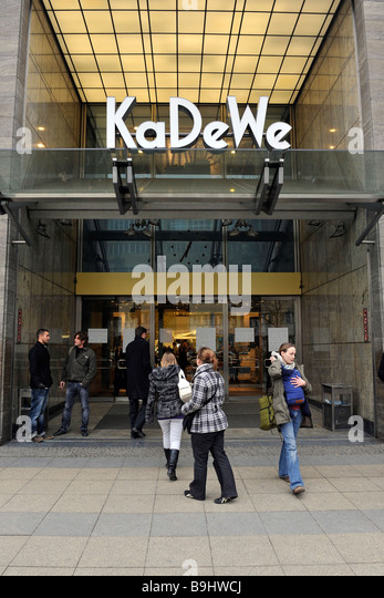 kadewe department store stock photos kadewe department store stock images alamy. Black Bedroom Furniture Sets. Home Design Ideas
