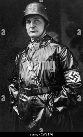 Hermann Goering, (1893-1946), German politician and military leader and leading member of the Nazi Party, 1923. - Stock Image