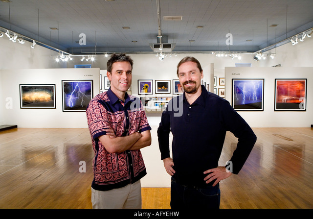 Fine art photographic Giclee prints by photographers A.T. Willett and Jeff Smith at the Etherton Gallery in Tucson, - Stock Image