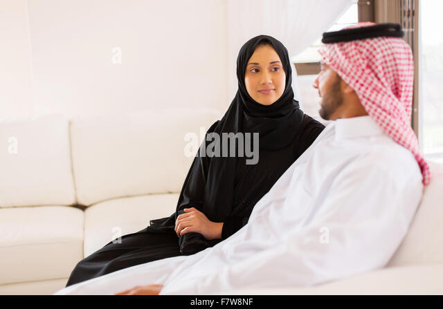 image Muslim couple home away from home away from