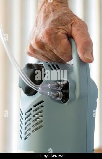 Oxygen Tank Patient Stock Photos Amp Oxygen Tank Patient