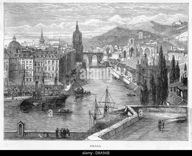 Spain Bilbao - Stock Image
