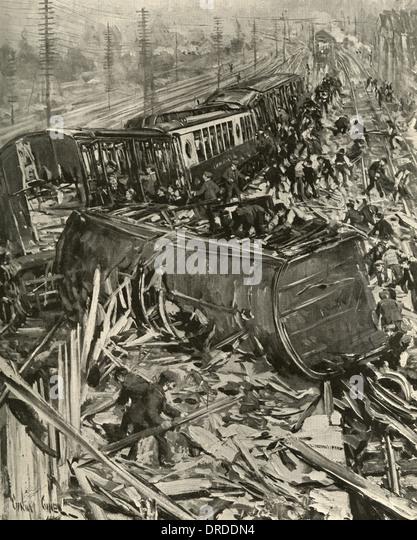 Brighton Express Disaster - Stock-Bilder