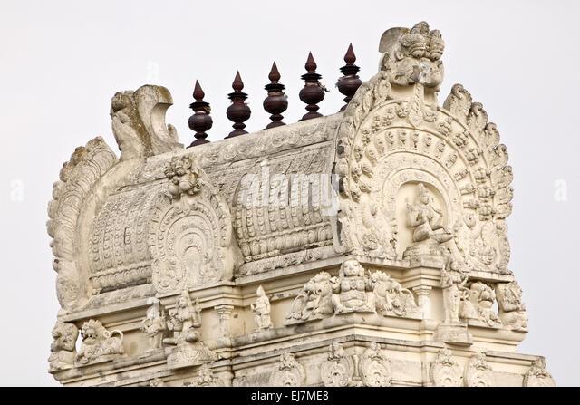 Hindu temple Sri Kamadchi, Hamm, Germany - Stock Image