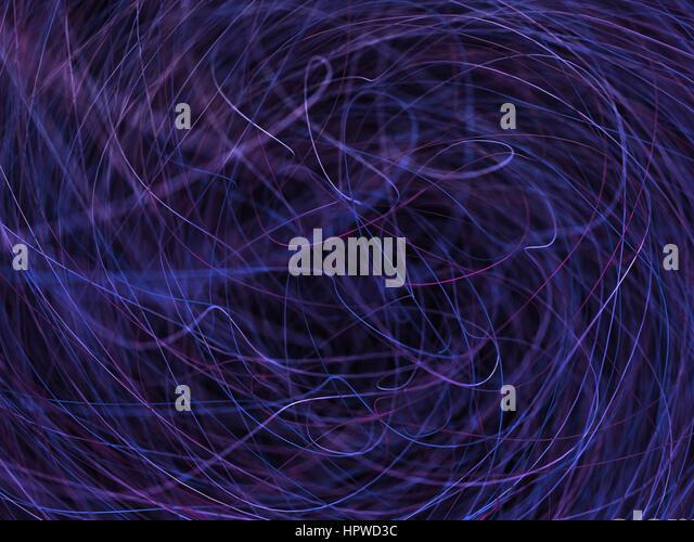 Purple lines, illustration. - Stock-Bilder