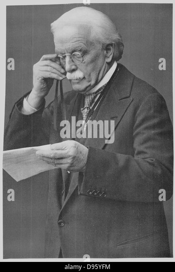 David Lloyd George (1863-1945) Welsh-born British Liberal statesman. - Stock Image