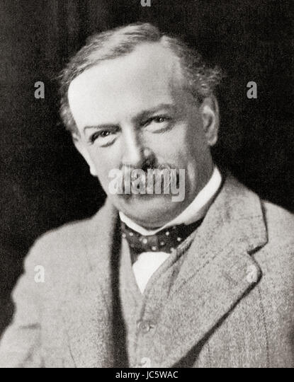 David Lloyd George, 1st Earl Lloyd-George of Dwyfor,1863 – 1945.  British Liberal politician and statesman.  From - Stock Image