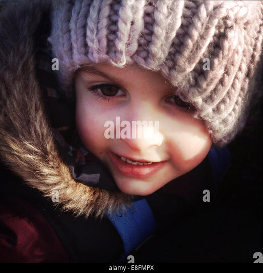 Portrait of child - Stock-Bilder