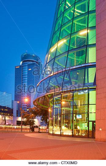 Modern architecture of Warsaw, Poland, Europe - Stock-Bilder