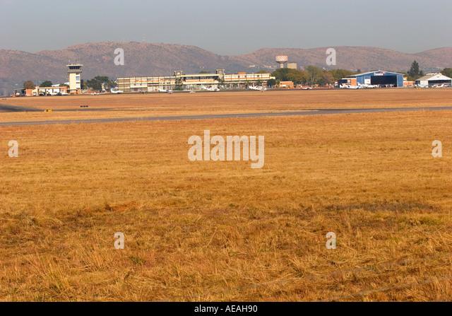 Wonderboom airport Pretoria - Stock Image