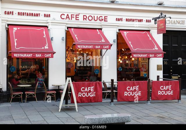 Glasgow street cafe stock photos glasgow street cafe for 16 royal terrace glasgow