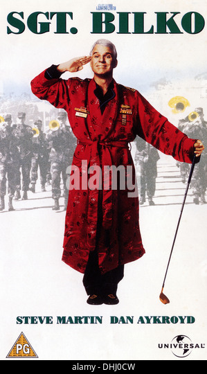 SGT BILKO (1996) POSTER STEVE MARTIN JONATHAN LYNN (DIR) 002 MOVIESTORE COLLECTION LTD - Stock Image