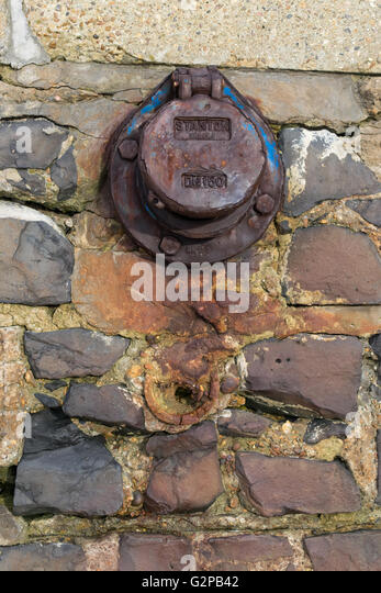 overflow cover - Stock Image