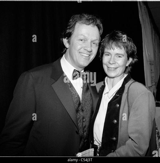 Kevin Wheatley, Celia Imrie. Celebrity, Actors, Anthony Minghella, English Patient, Newport, Isle of Wight, England, - Stock-Bilder