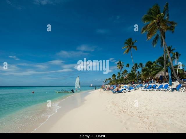 Bayahibe Beach, Dominican Republic - Stock-Bilder