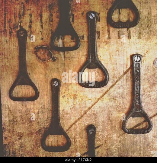 Bottle openers - Stock-Bilder