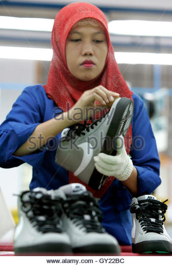 Nike Factory Shoe Maker