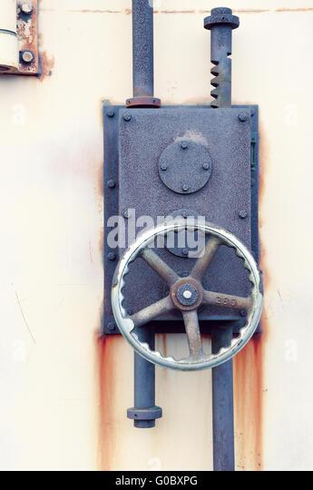 French Door Locking Mechanism : Lock mechanism stock photos images