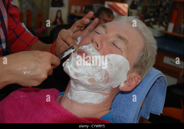 how to shave with a cut throat razor book