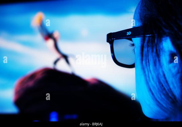 3D Entertainment - Stock-Bilder