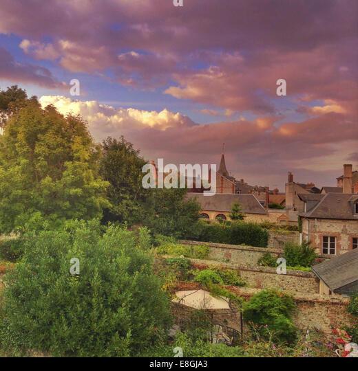 Landscape of town - Stock-Bilder
