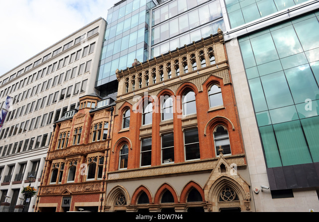 Victorian and modern buildings stock photos victorian Modern victorian architecture