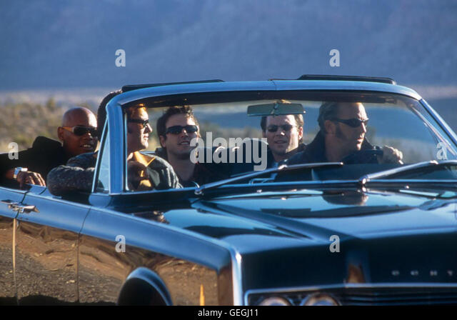 Bokeem Woodbine, Kurt Russel, David Arquette, Christian Slater, Kevin Costner *** Local Caption *** 2001, 3000 Miles - Stock Image