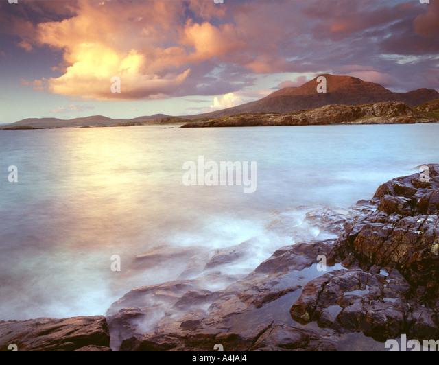 IE - CONNEMARA:  Lettergesh Beach - Stock Image