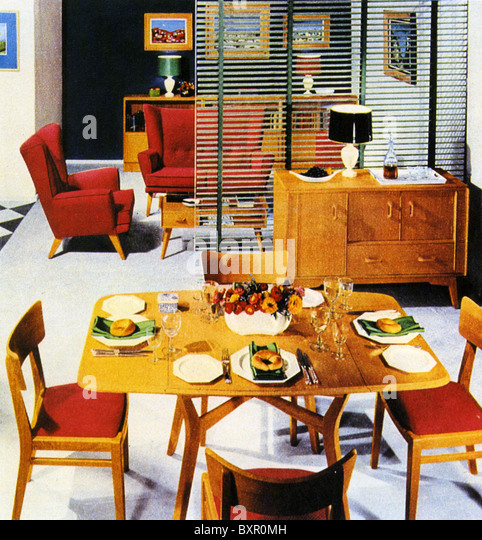 1950s style living room stock photos 1950s style living for G plan living room furniture