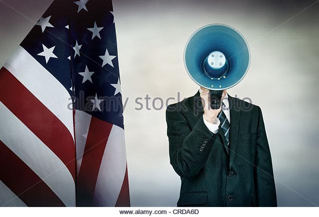 american politician - Stock Image