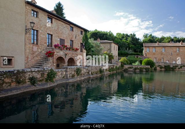 Bagno Vignoni Spa Stock Photos & Bagno Vignoni Spa Stock Images - Alamy