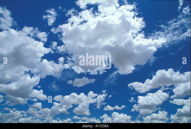 Sky Northern Territories Australia - Stock Image