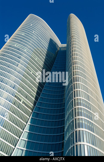 Abu Dhabi Investment Authority Building - Stock Image