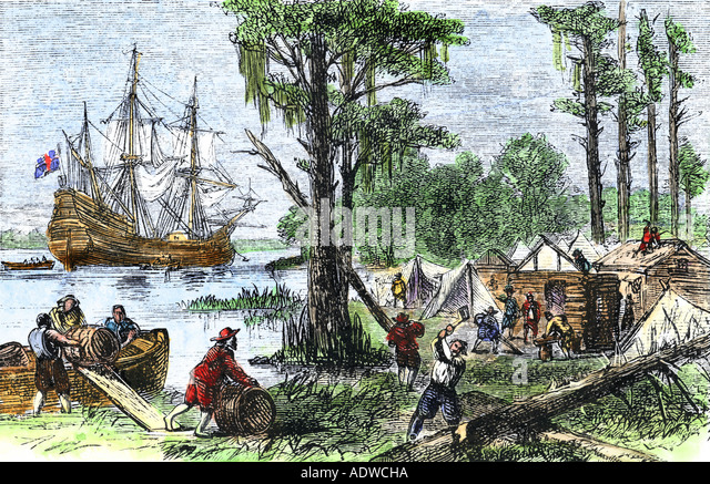 English essay in jamestown settlement