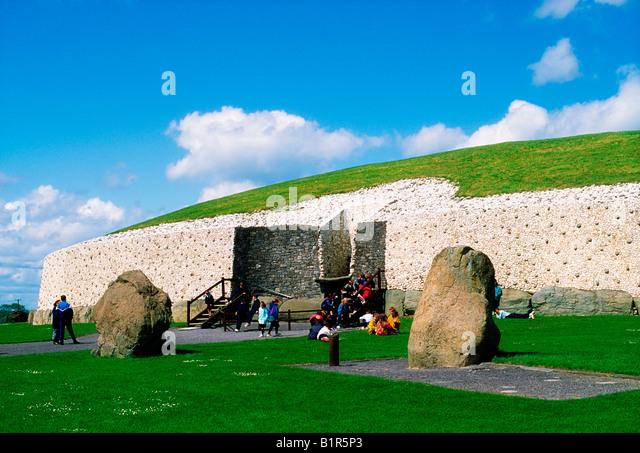 Celtic Archaeology, Newgrange, Co Meath - Stock Image