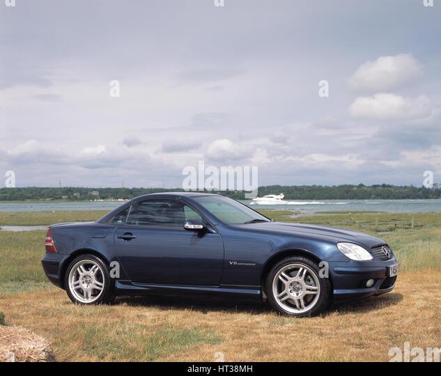 2001 Mercedes Benz SLK 320 AMG. Artist: Unknown. - Stock Image