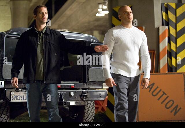 Fast and Furious ; Year : 2009 USA ; Director : Justin Lin ; Vin Diesel, Paul Walker ; Photo: Jaimie Trueblood - Stock Image