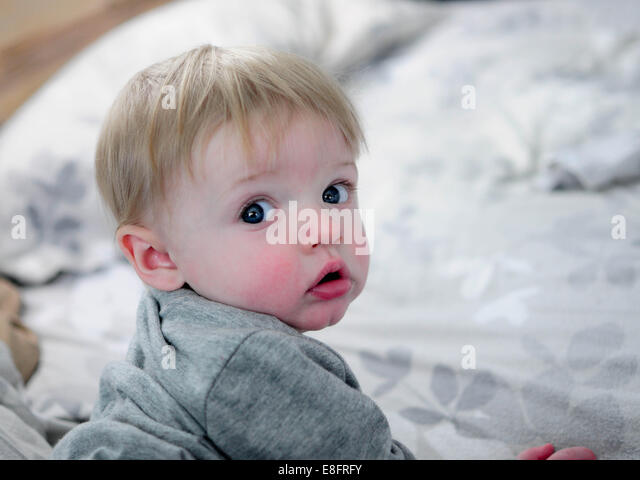 Portrait of a boy - Stock Image