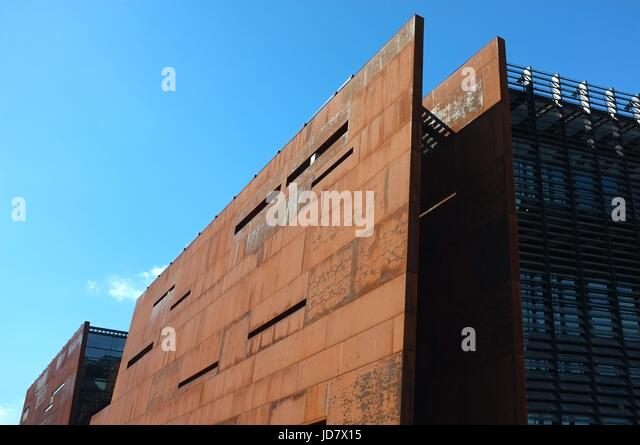 European Solidarity Museum in Gdansk, Poland, central/eastern Europe. June 2017. - Stock Image
