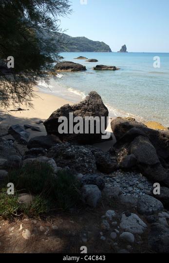 Secret Beach - Stock Image
