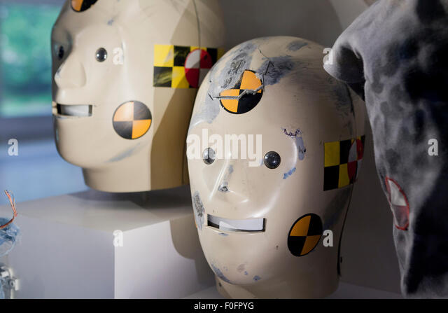 Vince and Larry, the Crash Test Dummies - USA - Stock Image