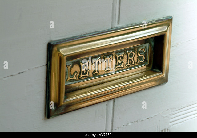 how to clean brass letterbox