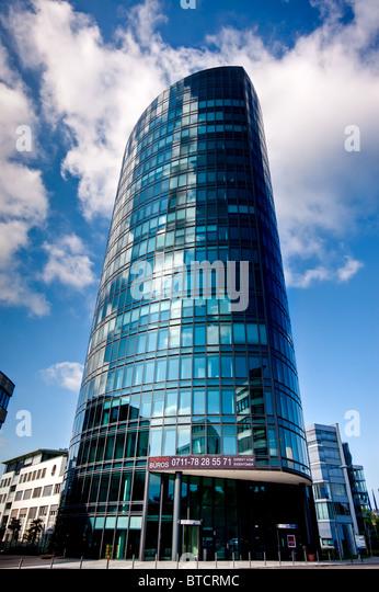 office building in stuttgart, germany - Stock-Bilder