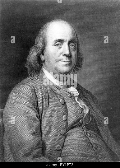 Benjamin Franklin - Stock Image