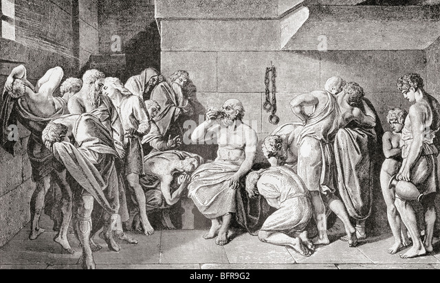 capital punishment socratic dialogue It costs more to give a criminal capital punishment than it does to give him life imprisonment true in the platonic dialogue ______ socrates famously discussed his decision to drink the poison hemlock.